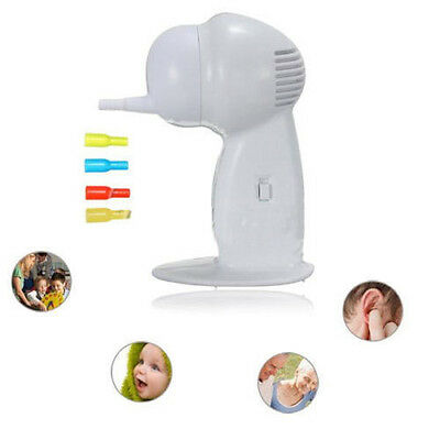 Ear Cleaner Wax Removal Safe Suction Painless Cordless Vacuum Remover Safety