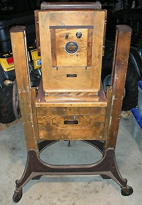 - Antique Century Master Studio Camera With Century Master Studio Stand -