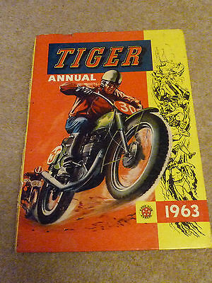 Tiger Annual 1963 - Roy of the Rovers
