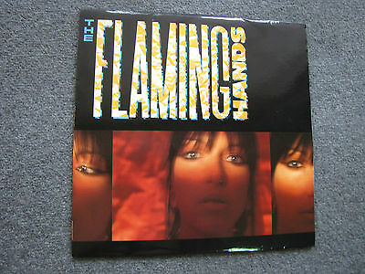 The Flaming Hands Vinyl 33 RPM LP  Record  Contact me for postage cost