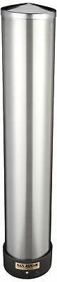 San Jamar C3400P 12-24 oz Stainless Steel Pull Type Beverage Cup Dispenser