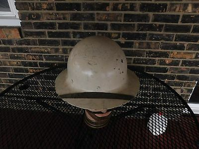 Ww2 Civil Defence Helmet With Liner And Chin Strap