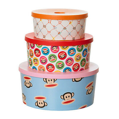 Paul Frank Round Organizers - Set of 3 mixed colours