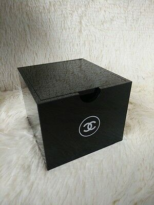 Brand New CHANEL MakeUp Cosmetic Cotton Pads Organiser Storage VIP Gift Box