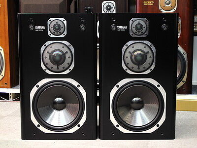 YAMAHA NS-1000X 1986 Legendary MIJ Vintage Matching Pair Speakers Made in Japan