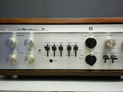 1978 LUXMAN LX38 Vintage Tube Integrated amplifier Made in Japan Stereo Amp MIJ