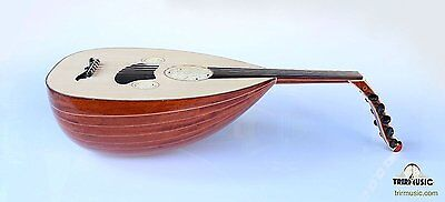 Turkish Professional Rose Louta Lavta Oud String Instrument For Sale HSL-150