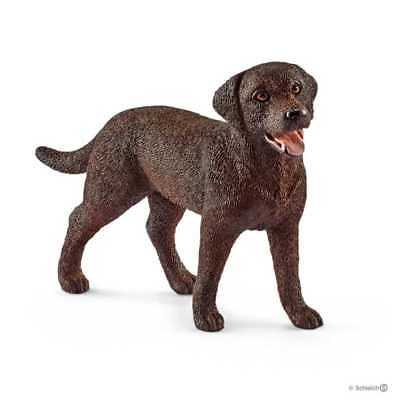 LABRADOR RETRIEVER animali in resina SCHLEICH miniature 13834 Farm Life DOG cane