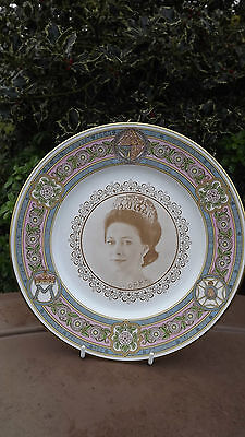 1980 Princess Margaret 50th Birthday Caverswall China Plate   Number 4 of Ltd ed