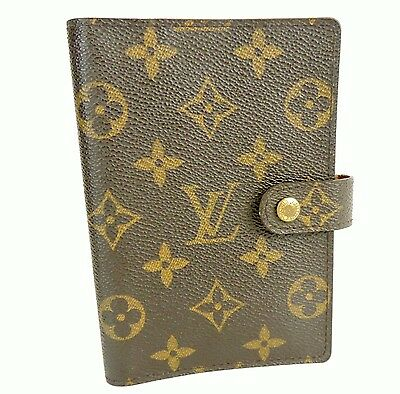 Authentic Louis Vuitton Monogram 6 Rings Agenda Pm Day Planner Diary Cover