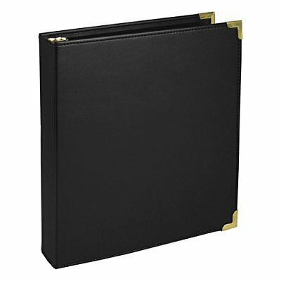 Samsill Classic Collection Executive Presentation 3 Ring Binder, 1 Inch Brass