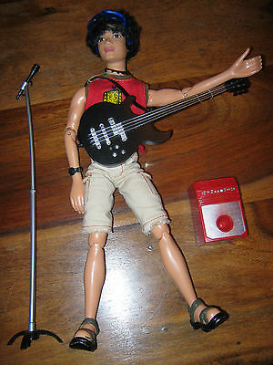 Barbie Mattel My Scene River Boy Doll From Hanging Out Series & Few Accessories
