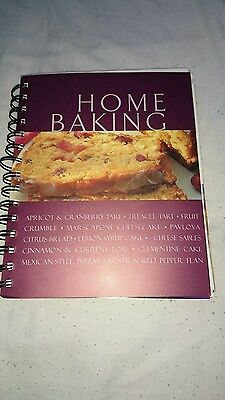 Home baking recipe book