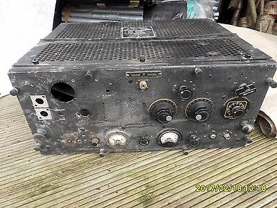 General electric TBS-4 ship to shore radio. WWII. Incomplete, spares repair