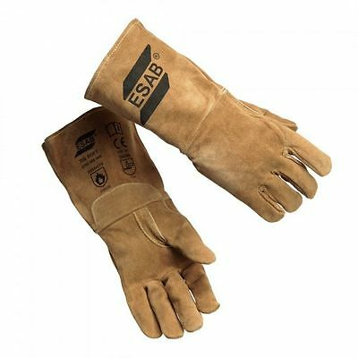 Brand New ESAB TIG SOFT WELDING GAUNTLETS Size 9 Large - Part No 0700 005 005