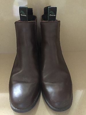 Dublin Women's Leather Horse Riding Boot Size AUS 8.5 Excellent Cond  See Photos