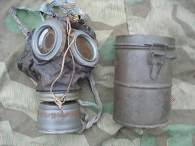 Gasmaske GM17  WK1 gas mask  German Verdun Flandern