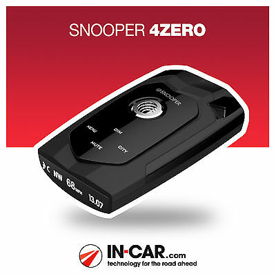New Snooper 4ZERO Radar Laser GPS Speed Camera Van Detector