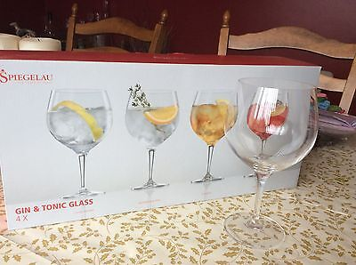 Spiegelau Gin and Tonic Glasses (Set of 4 in Box)