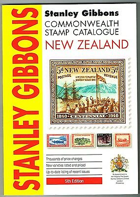 Stanley Gibbons NEW ZEALAND Catalogue 5th Edition 2014