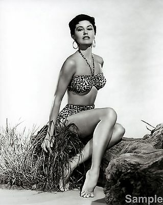 Cyd Charisse Film Actress Glossy Black & White Photo Picture Print A4