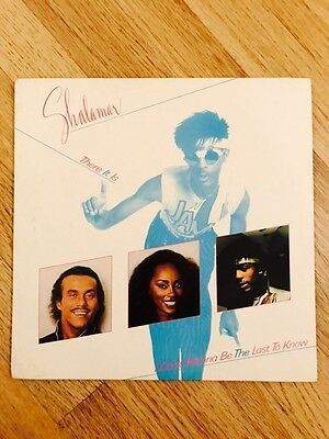 Shalamar - There It Is 12 Inch Record Rare 1982