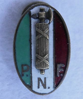 1) PNF Fasci Combattimento Squdrism National Fascist Party Mussolini Duce  Axis
