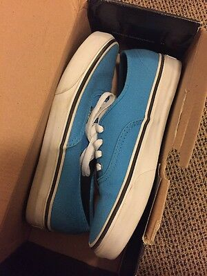 Vans Malibu Blue Sneakers Men 5 Women 6.5