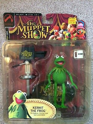 The Muppet Show Kermit The Frog 25th Anniversary Palisades Figure 2002 Rare