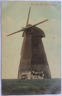 THE OLD MILL, ROTTINGDEAN, SCARCE Early 20th Century POSTCARD