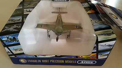 NEW Franklin Mint Armour FW190 Luftwaffe JG54 Mader 1/48 scale G11E401
