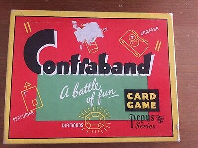 vintage boxed complete contraband card game
