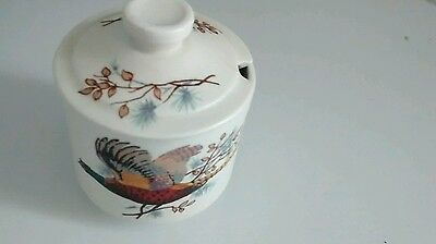 Axe Vale, collectable,  pottery mustard jar