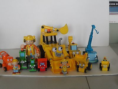 BOB THE BUILDER WENDY ELECTRONIC TALKING Machine Yard VEHICLES LOT Some TALK GUC