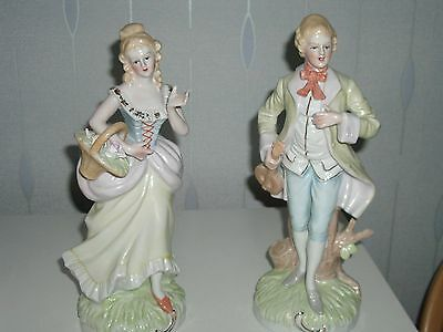 A Pair of Porcelain Figurines