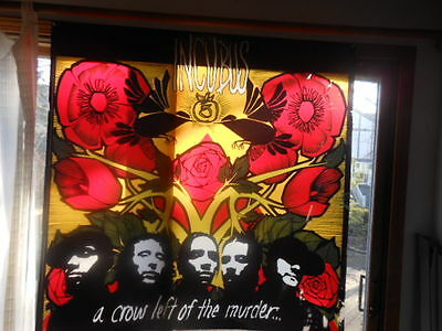 """Large 48"""" Plastic Promotional Poster Incubus A Crow Left Of The Murder light Box"""