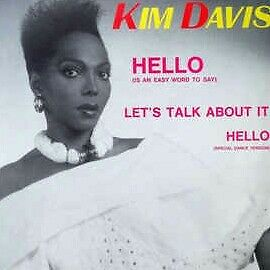 "italo disco KIM DAVIS ""HELLO""  MAXISINGLE"