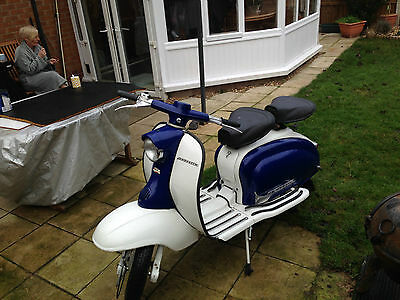Lambretta li 150 series1 1958 uk redg with V5 mot and tax exempt, FREE DELIVERY