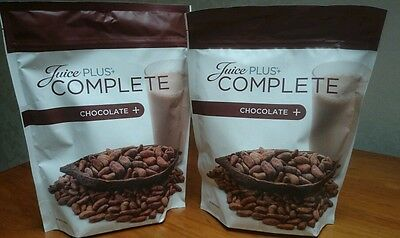 Juice Plus Chocolate Complete Shake Mix 2 Full Unopened 525g Pouches