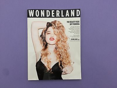 Wonderland Magazine April / May 2011 The Realilty Issue Sky and Tyler
