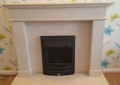 Fireplace solid stone