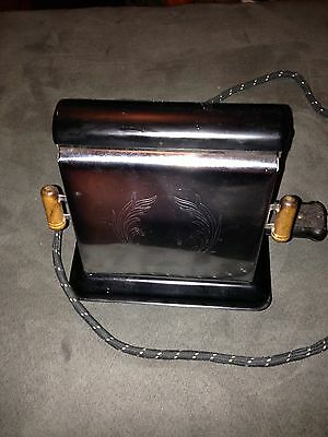 Vintage Dominion Electrical Toaster #1104. Works! Made In USA