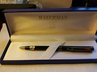 Waterman Vintage 1985 - 1987  Exclusive Black Lacquer Ball Pen