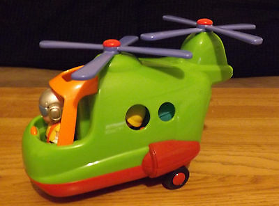 Happyland Lights and Sounds Rescue Helicopter by ELC Early Learning