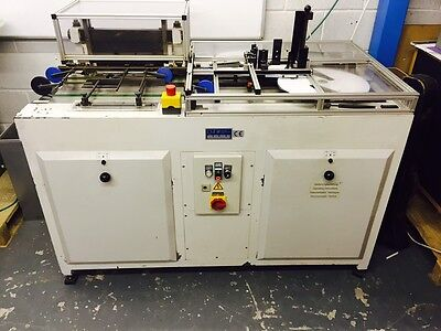 Punching machine - German Built Pfaffle F42a Automatic feed - Wire-O,spiral coil