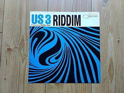 Us3 Featuring Tukka Yoot ‎– Riddim : Blue Note 12""