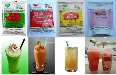 Hand Brand Number One-Cha Tra Mue Green Tea Mix, Thai Tea Mix Milk Hot Ice Cold