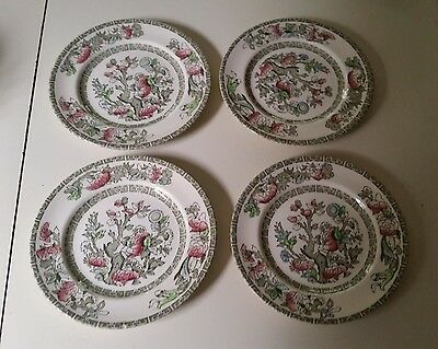 Johnson Brothers - Indian Tree -  Set of 4 6-1/4 inch Snack Plates
