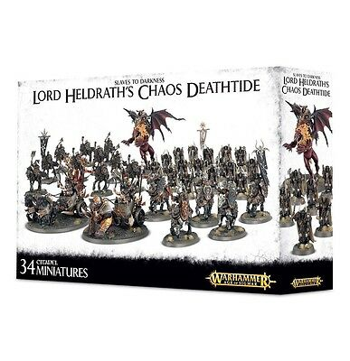 Slaves To Darkness Lord Heldraths Chaos Deathtide - Warhammer Age Of Sigmar