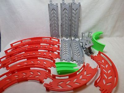Fisher Price Shake N Go Raceway Race Track Pieces 16 Track Pieces